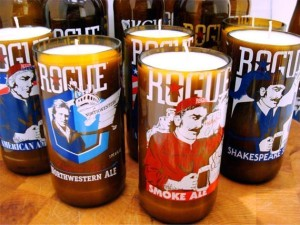 craft Beer Bottle Candles