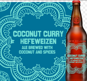 coconut curry hefeweizen