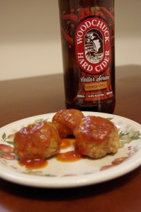 Woodchuck Smoked Apple Cider Meatballs Recipe